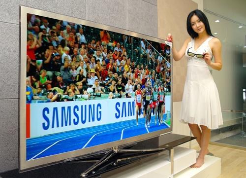 삼성전자, 3D TV 6개월 간 100만대 판매