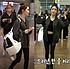청하 공항패션에 함께한 여자백팩 화제