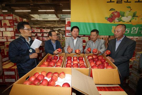 김병원, 추석전 농산물 수급상황 점검
