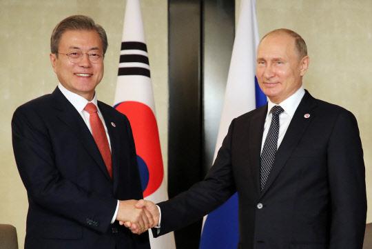 문 대통령-푸틴 정상회담