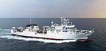 국내 최초 1400톤급 수산과학조자선 `탐구 22호` 취항