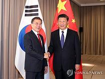 문대통령, 오늘 시진핑과 정상회담…비핵화 논의 주목