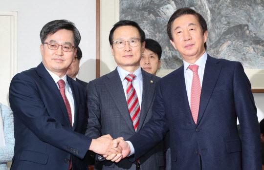 민주·한국, 내년 예산안 잠정합의… 野 3당 반발