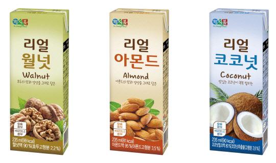 콩고기·호두 음료…식물성 단백질 뜬다
