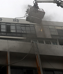 대구 사우나 화재… 2명 사망 70여명 부상