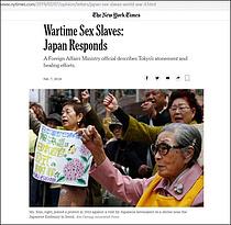 """""""日 위안부 반론 사실 아니다""""...서경덕 교수 뉴욕타임스에 서한"""