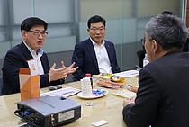 조경수 롯데푸드 대표, 파트너사 방문…상생방안 논의