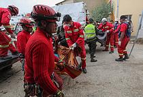 볼리비아서 버스 추락
