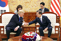 트럼프 6월 말 방한…文대통령, 8번째 한미 정상회담 연다