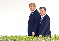 트럼프, 내달말 訪韓