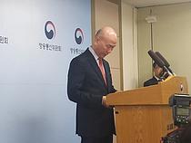 """떠나는 이효성 작심 발언 """"방송·통신 규제, 방통위가 맡아야"""""""