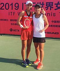 김나리·장수정, ITF 중국 황산 테니스대회 복식 우승