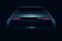 현대차의 과거·현재·미래 담았다…EV 콘셉트카 '45' 티저 공개