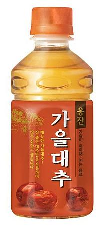"""웅진식품, 가을대추 리뉴얼 출시…""""95년 감성 그대로"""""""