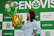 [포토] 한혜진, 세노비스 10주년을 축하해요