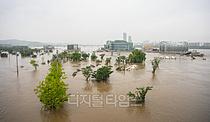 [포토] 흙탕물에 사라진 반포한강공원
