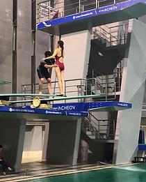 신민아 다이빙, `디바` 속 최고의 실력을 가진 선수 연기