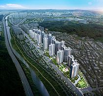 대우건설 컨소시엄, '수성 더 팰리스 푸르지오 더샵' 견본주택 오픈