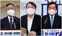 """누구와 붙어도 이기는 '파죽지세' 윤석열…""""40% 중반 지지율"""""""