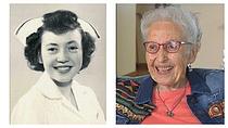 """""""배움 멈추지 말라""""…96세 美 최고령 간호사 은퇴"""