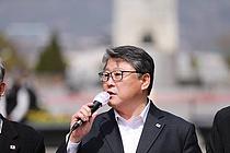 """조원진, 이재명 '대장동 특혜 의혹' 직격…""""썩은 비리 냄새가 진동한다"""""""