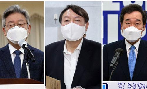 '정권 교체' 희망 국민 53.8%…대통령후보 윤석열 32.5% '1위'