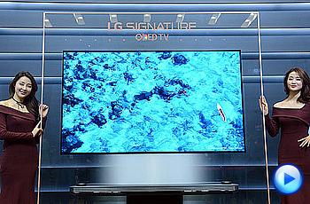 LG전자, 4mm 두께 'LG 시그니처 올레드 TV' 출시